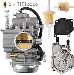 MOTOALL Carburetor and Fuel Pump Kit for Polaris Sportsman 400 500 700 300 335 600 Magnum 325 Trail Blazer 330 2520227