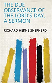 The due observance of the Lord's day, a sermon