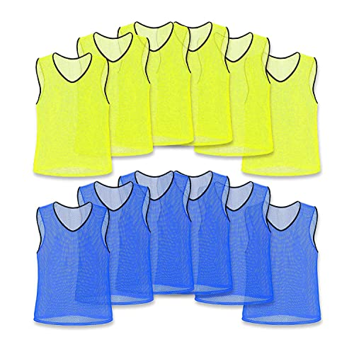 0ac67a049 Unlimited Potential Nylon Mesh Scrimmage Team Practice Vests Pinnies  Jerseys Bibs for Children Youth Sports Basketball