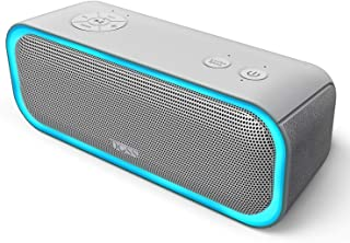Bluetooth スピーカーDOSS Sound Pro 20W出力 ポータブルブルートゥース ワイヤレススピーカー iphoneスピーカー IPX5防水 TWS機能対応 ライティング機能 SD TFカード再生 重低音モデルipad ipod Android Echo dotなど対応