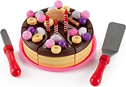 Think Gizmos Play Party Cake TG713 - Party Cake Play Set for Kids Aged 3 4 5 6
