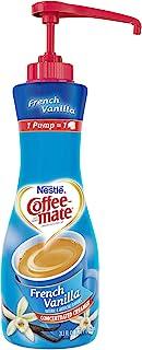 Nestle Coffee-mate Coffee Creamer, French Vanilla, 21.1 oz liquid pump bottle