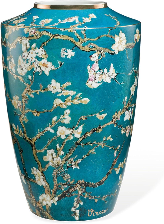 Van Gogh Vase MANDELBAUM von Goebel Goebel Goebel Porzellan, H 24 cm - (66-539-61-0) B00JMA6QZW 3ae335