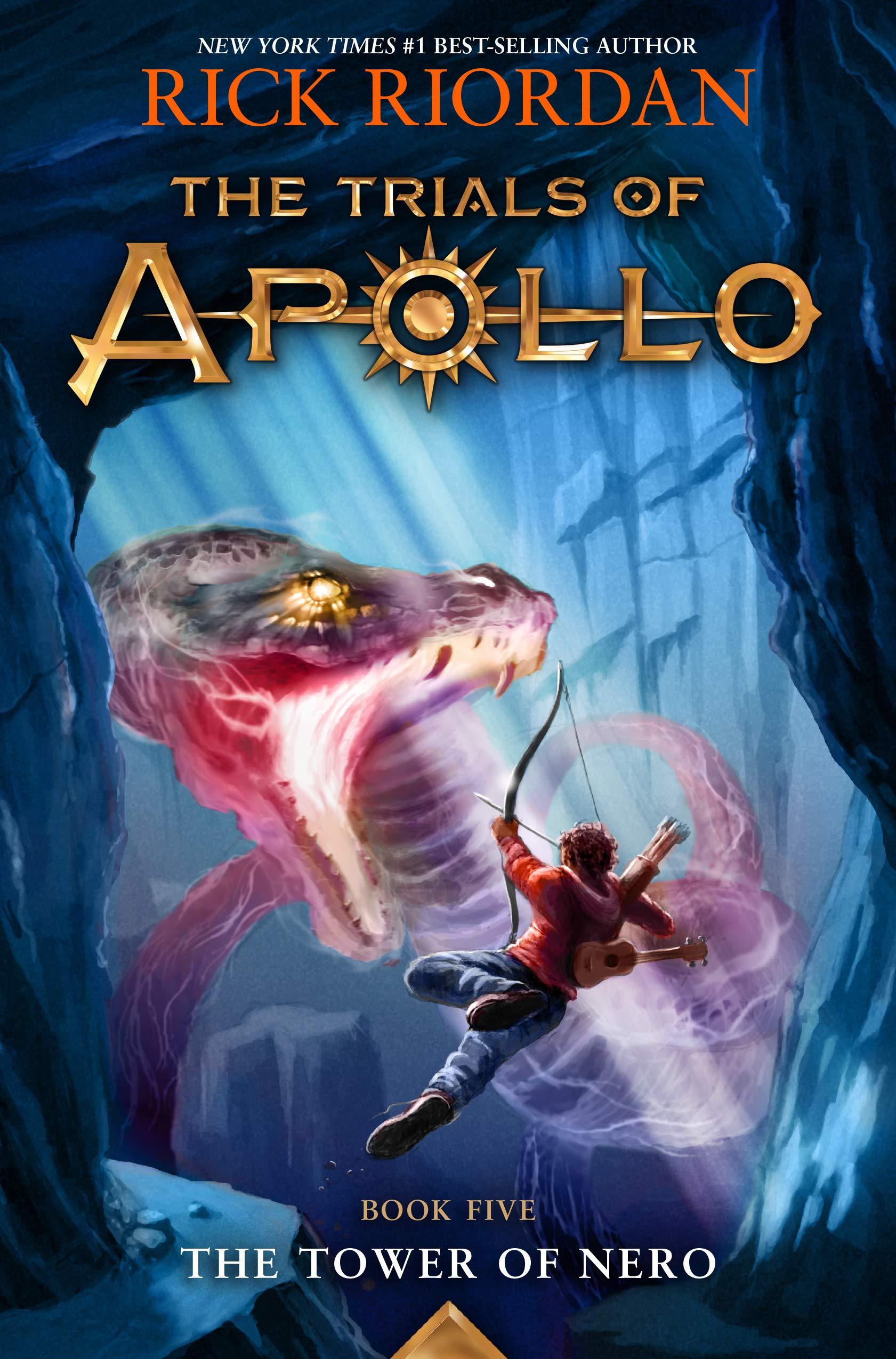 The Tower of Nero (Trials of Apollo, The Book Five) (Trials of Apollo, 5):  Riordan, Rick: 9781484746455: Amazon.com: Books