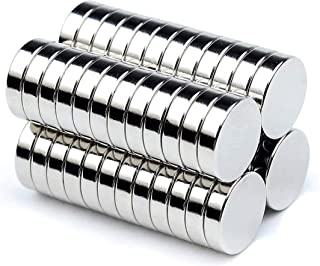 超強力マグネット 磁石 最新改良 抜群な磁力 多用途 小型丸ディスク磁石 冷蔵庫、事務所、科学、工芸に最適 サイズ10×3mm 収納ケース付き (50個セット)