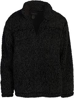 Men and Women Super Soft Sherpa 1/4 Zip Pullover Sweater