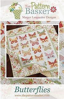 The Pattern Basket Butterflies Quilt Pattern by Margot Languedoc Designs
