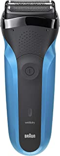 Braun Series 3 310s Wet and Dry Electric Shaver for Men/Rechargeable Electric Razor, Blue