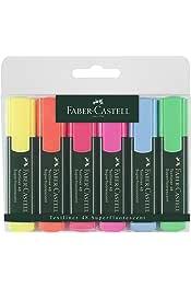 Faber-Castell 10004541 Textliner Surligneur Super fluorescent Rose