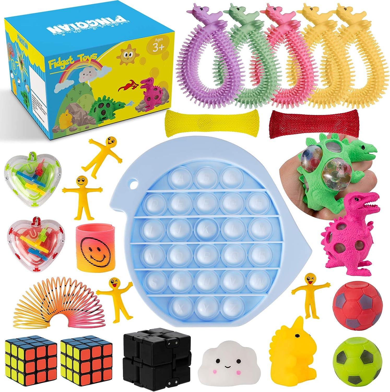 Pingqian (25-Pieces Fidget Toys Set  $11.99 Coupon