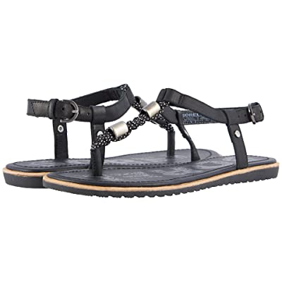 SOREL Ella T-Strap (Black) Women