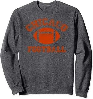 Chicago Distressed Pro Football Team Sweatshirt Mens Womens