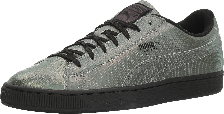 Puma Men's Basket Classic Holographic Sneakers