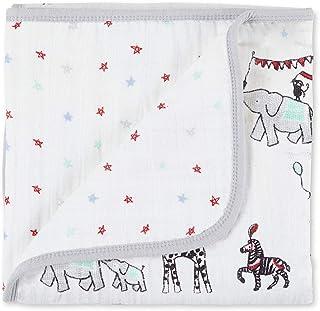 aden + anais(エイデンアンドアネイ) 【日本正規品】 モスリンコットン ミニ・ドリーム・ブランケットmini dream blanket vintage circus 70 x 70cm 6089