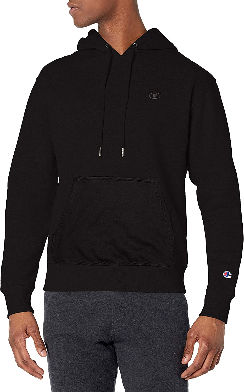 Champion Men's Powerblend discount Fleece Logo Hoodie C San Jose Mall