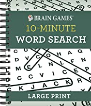 Brain Games - 10 Minute: Word Search - Large Print