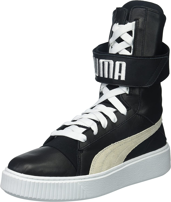 PUMA Women's Platform Boot Wn, Black/White, 5.5 UK: Amazon.co.uk ...