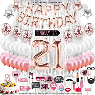 Best birthday decorations for 21st birthday Reviews