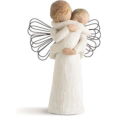 Willow Tree, Figura de ángel con bebé, Enesco