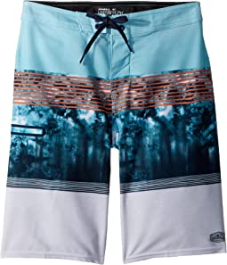 Hyperfreak Superfreak Boardshorts (Big Kids)