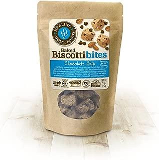 Chocolate Chip Baked Biscotti Bites