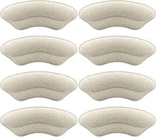 Heel Grip Heel Cushion Inserts Heel Pads Leather for Shoes, Rubbing, Blisters Heel Sticker for Shoes Too Big Shoes Filler ...