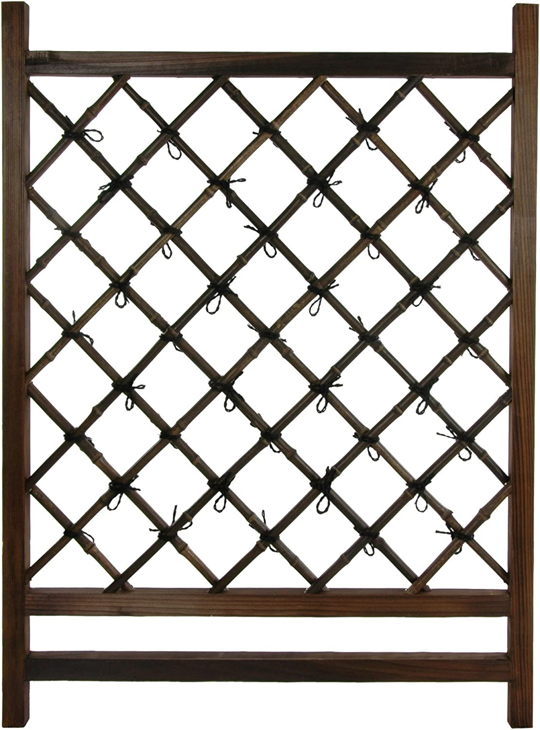 Oriental Furniture Japanese Wood Bamboo Section Fence Low price 67% OFF of fixed price