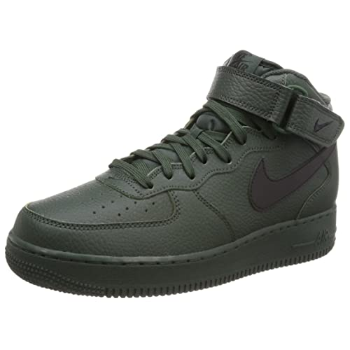quality design 60cd0 35fd2 Nike Men s Air Force 1 Mid 07 Trainers