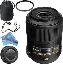 Nikon AF-S DX Micro NIKKOR 85mm f/3.5G ED VR Lens Base Bundle