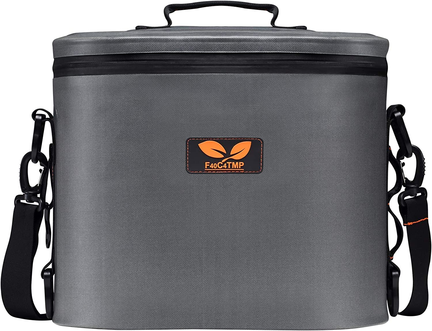 F40C4TMP Soft Sided Cooler 11 Cans, Soft Pack Cooler Ice Chest 30 Hours Cold for Beach Party, Hiking, Camping and Any Outdoor Activities