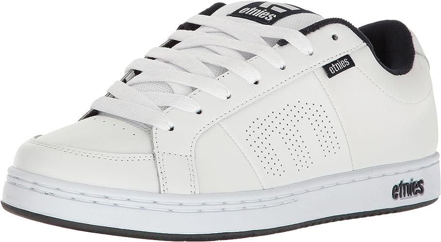 Etnies Kingpin, baskets Basses Homme, Blanc, 45.5 EU