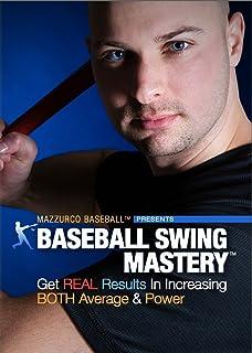 Baseball Swing Mastery - Get Real Results in Increasing Both Average & Power (Baseball Instructional Video - Hitting DVD 2 Disc Set)