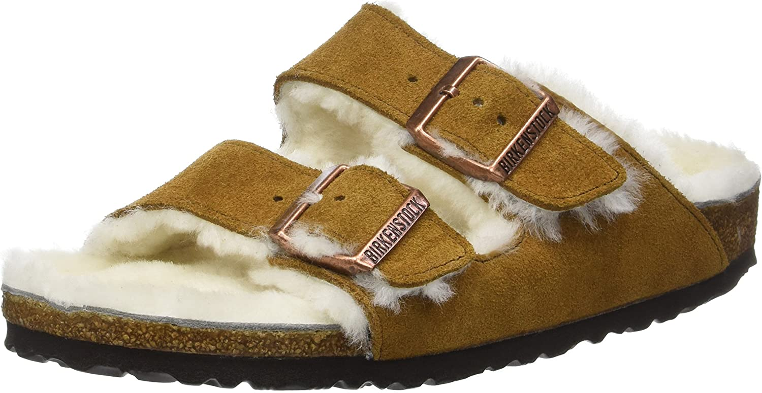 Arizona Shearling Lined Mink Suede