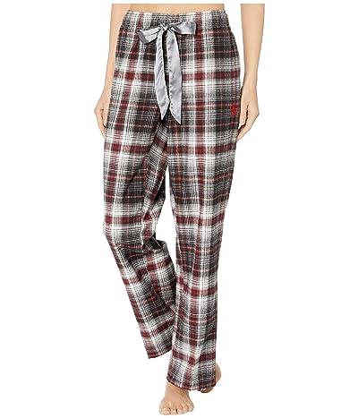Ariat Plaid Pajama Pants (Heather Grey Ombre Plaid) Women