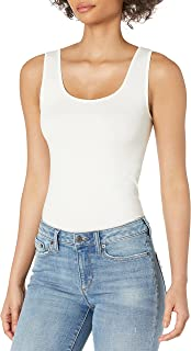skinnytees - Basic Skinny Tank Top   Wide Strap Camisole For Women