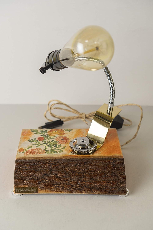 Sales Decorative table lamp PrideJoy Flowers ethane home deco pattern Rapid rise