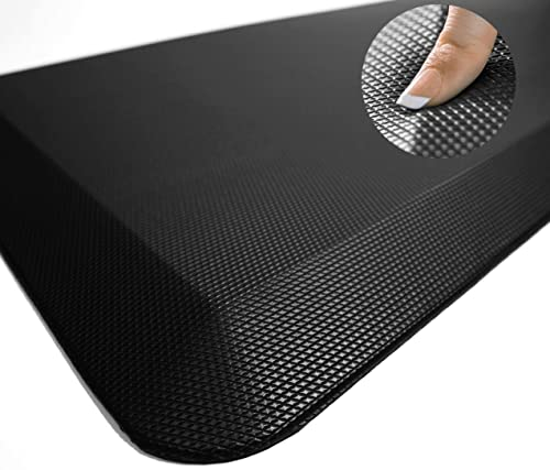 Anti Fatigue Comfort Floor Mat By Sky Mats -Commercial Grade Quality Perfect for Standup Desks, Kitchens, and Garages...