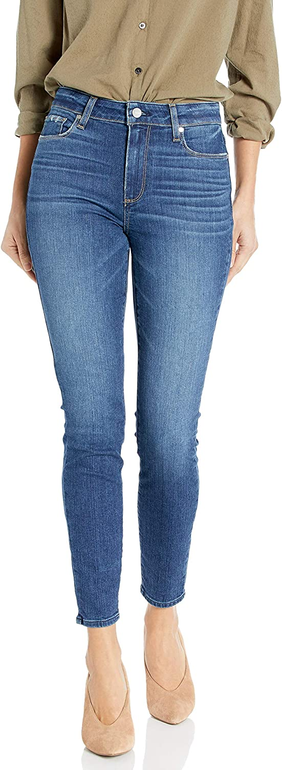 PAIGE Women's Hoxton Ankle Skinny Jeans