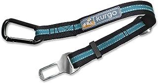 Kurgo K01965 Direct To Seatbelt Tether for Dogs | Universal Car Seat Belt for Pets | Adjustable Length Dog Safety Belt| Qu...