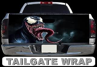 Tailgate Wrap T253 Venom Vinyl Graphic Decal Sticker F150 F250 F350 Ram Silverado Sierra Tundra Ranger Frontier Titan Tacoma 1500 2500 3500 Bed Cover