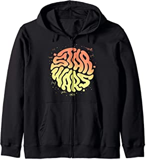 Star Wars Psychedelic Text Logo Sweat à Capuche
