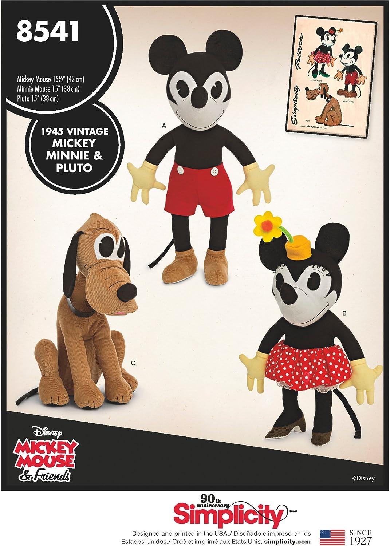 Simplicity Vintage Minnie Pluto Disney Mickey Trust mart Minni
