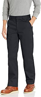 Amazon Essentials Men's Stain & Wrinkle-Resistant Classic Work Pant, Black, 32W x 28L