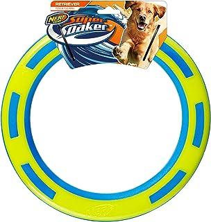"Nerf Dog 9"" TPR/Foam Ring, Blue/Green Dog Toy"