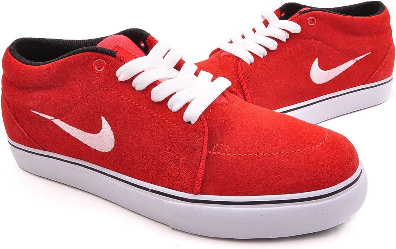 Nike SB Mens Satire Mid 13 M US University Red Black White