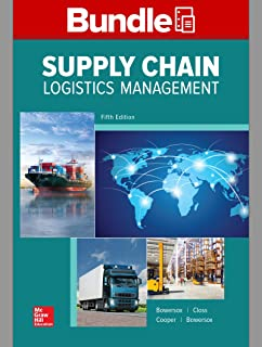 GEN COMBO LOOSELEAF SUPPLY CHAIN LOGISTICS MANGEMENT; CONNECT Access Card