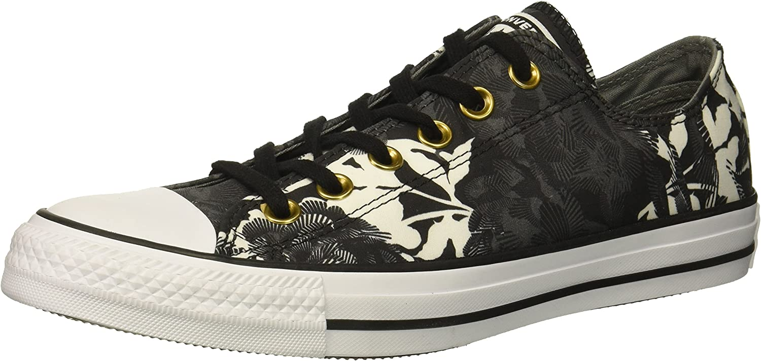 Converse Womens Chuck Taylor All Star Floral Print Low Top Sneaker