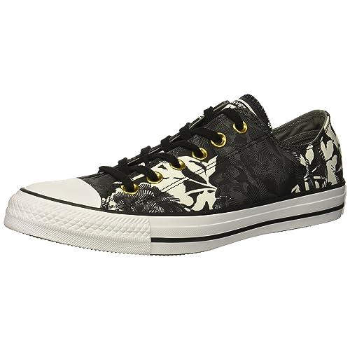 3cb0dee48fd88a Converse Women s Chuck Taylor All Star Floral Print Low Top Sneaker