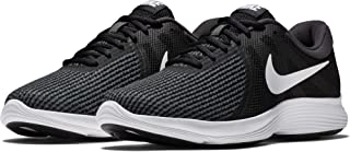 Men's Revolution 4 Running Shoe, Black/White-Anthracite, 12 Regular US