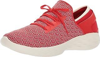 Donne Skechers You Inspire Rosso Scarpe Blu, Rosso